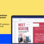 What are the features of the Wondershare pdf element for your Mac?